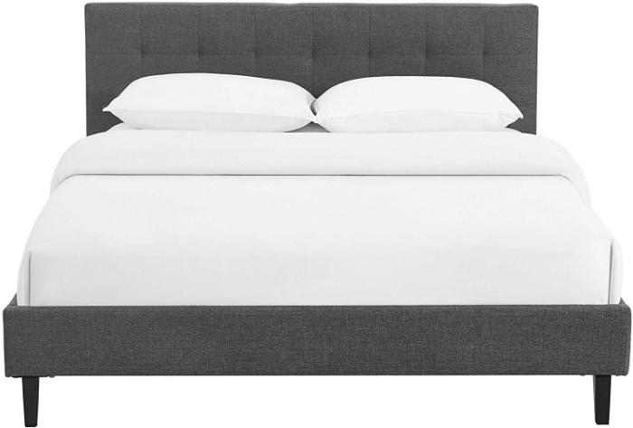 Olaia-queen-bed-frame-ikea-headboard-furniture-garage-mattress-and