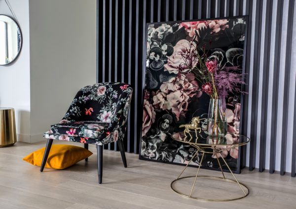 Accent Flowers Bree Chair - Floral 9