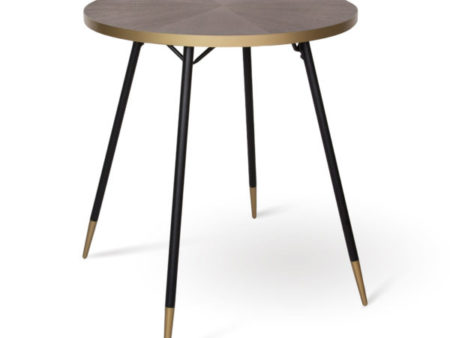 Florence mid -century round dining table – Walnut
