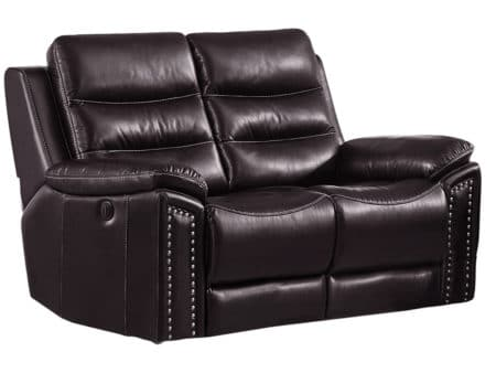 Jetson Reclining Loveseat – Leather Air Code # G03 Brown