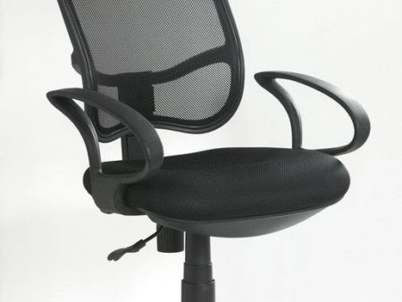 High Back Office Chair – Black