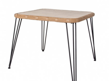 Calabria Square Wooden Modern Dining Table