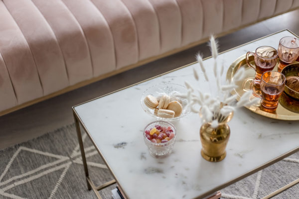 Marble Coffee Table - Modern Rectangle Miracle